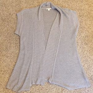 Tunic Sweater - gray/silver